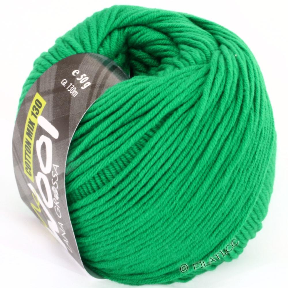 Lana Grossa COTTON MIX 130 (McWool) | 110-grøn
