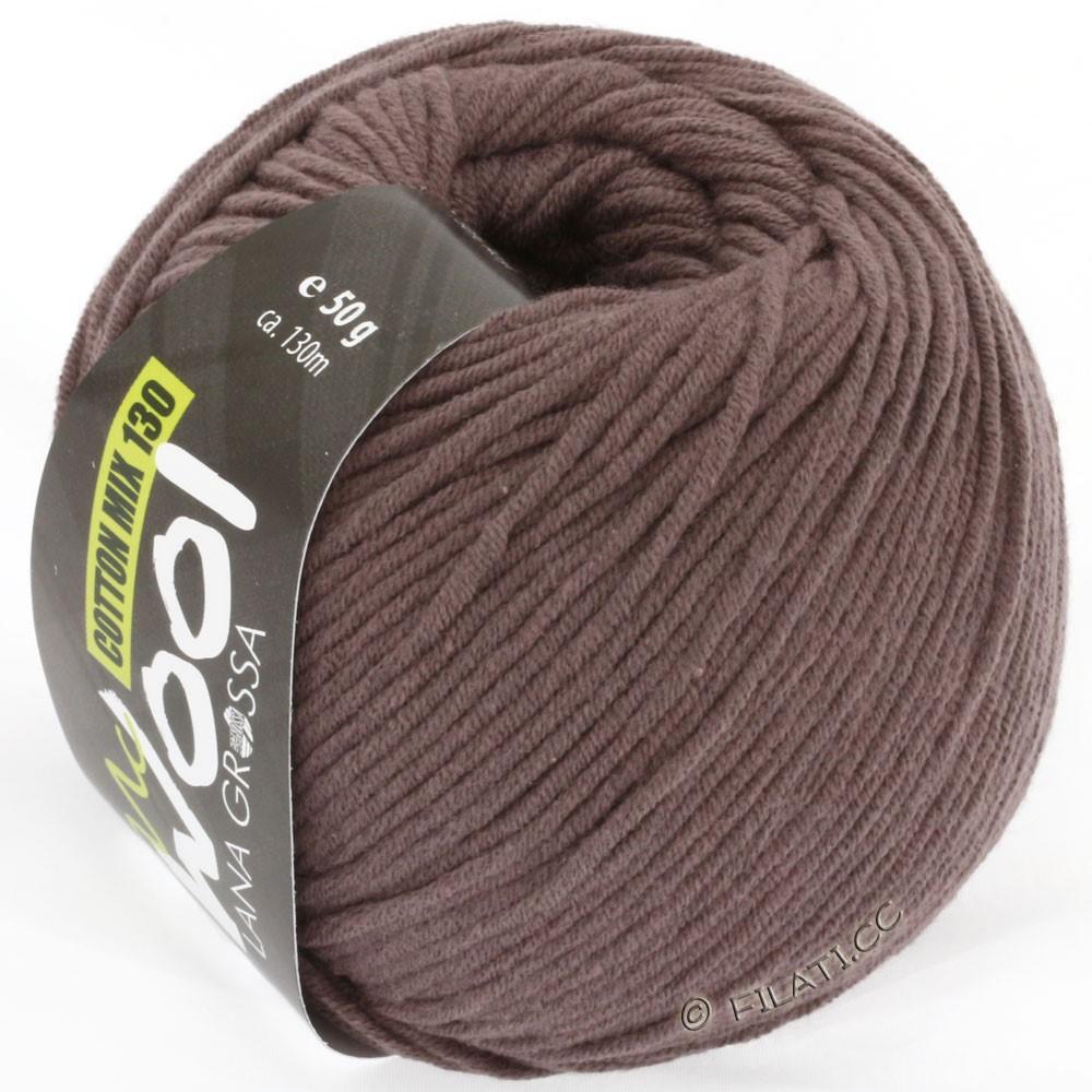 Lana Grossa COTTON MIX 130 (McWool) | 114-gråbrun