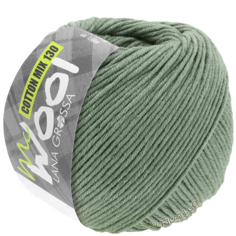 Lana Grossa COTTON MIX 130 (McWool) | 129-grågrøn