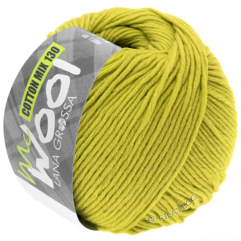 Lana Grossa COTTON MIX 130 (McWool) | 134-pistacie