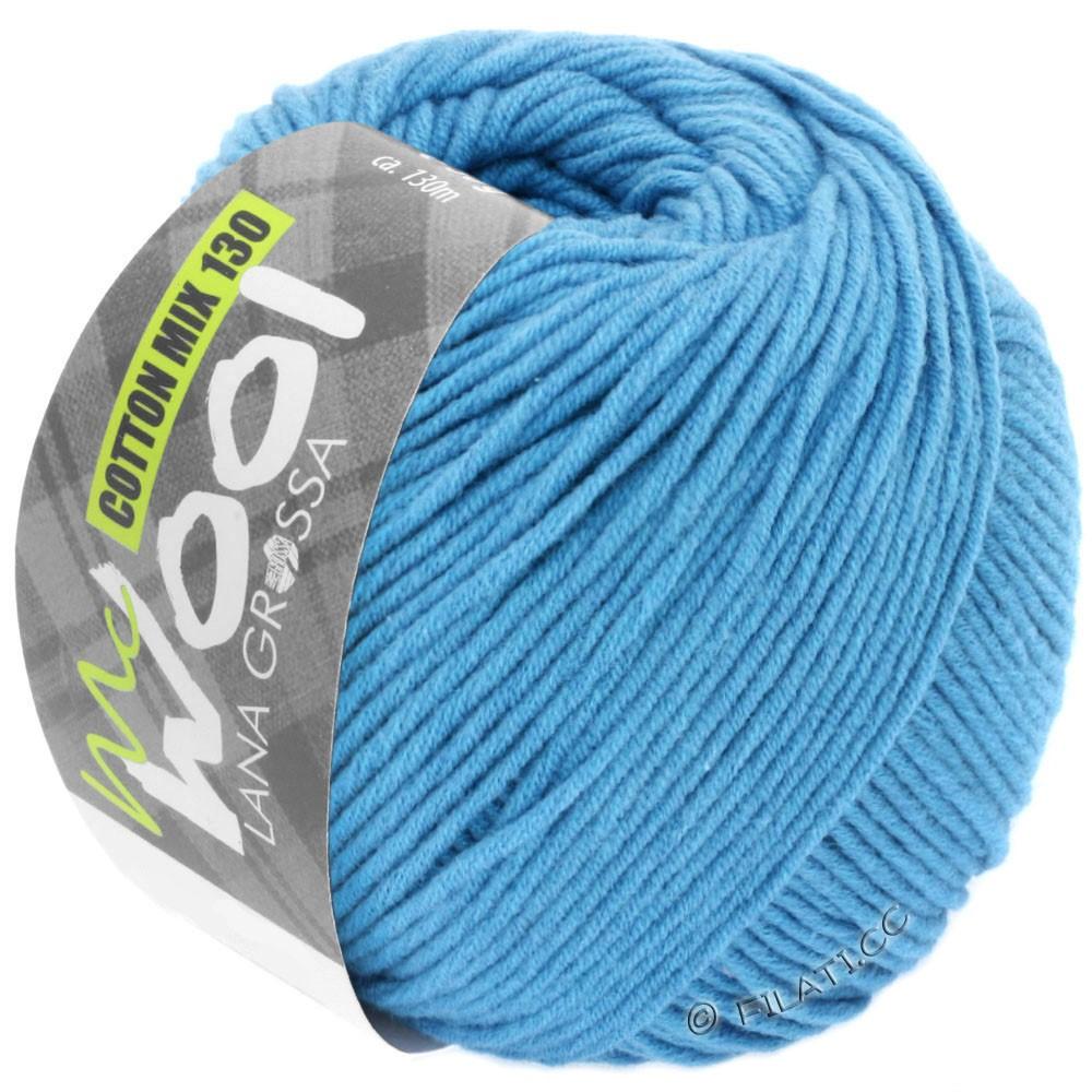 Lana Grossa COTTON MIX 130 (McWool) | 137-himmelblå