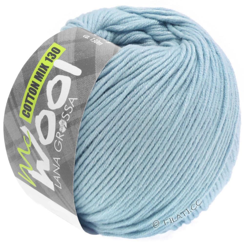 Lana Grossa COTTON MIX 130 (McWool) | 150-lyseblå