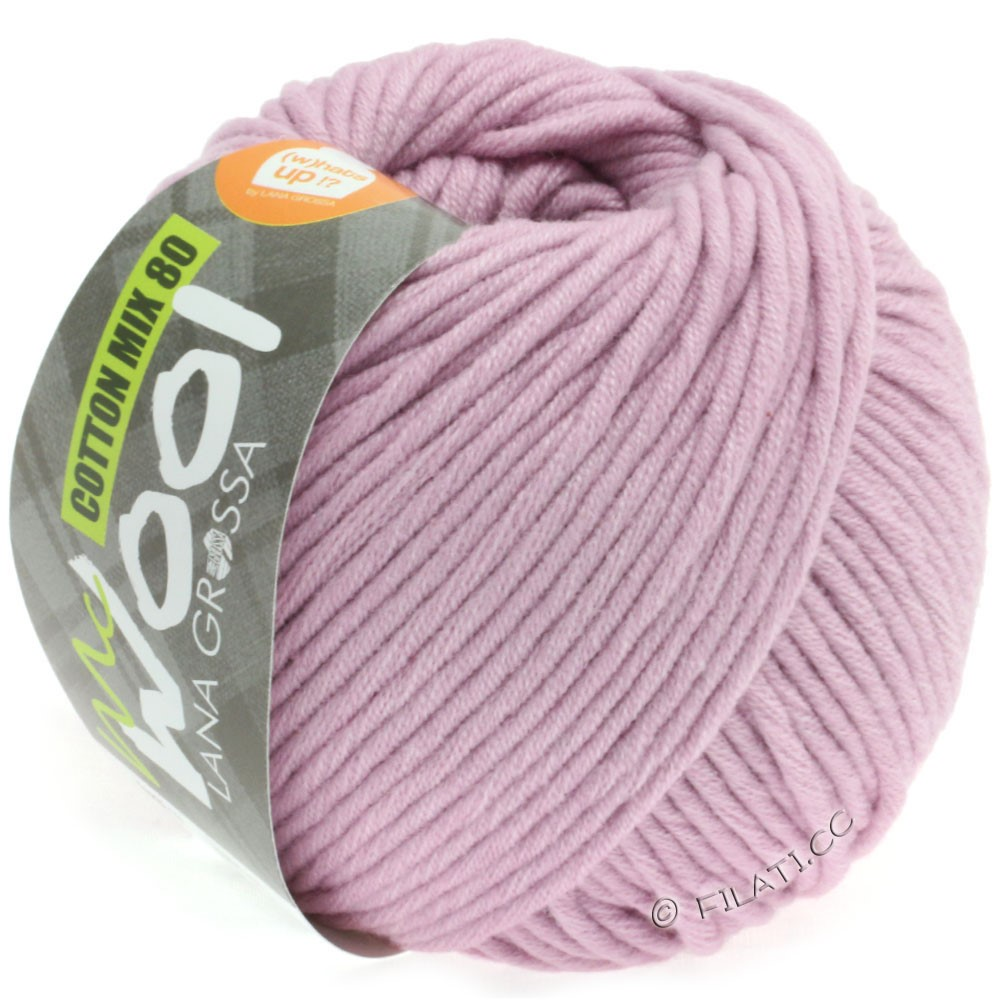 Lana Grossa COTTON MIX 80 (McWool) | 532-gammelrosa