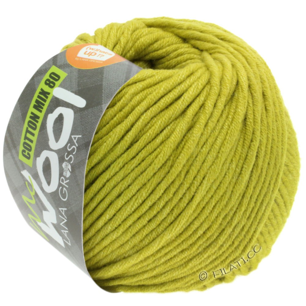 Lana Grossa COTTON MIX 80 (McWool) | 534-pistacie