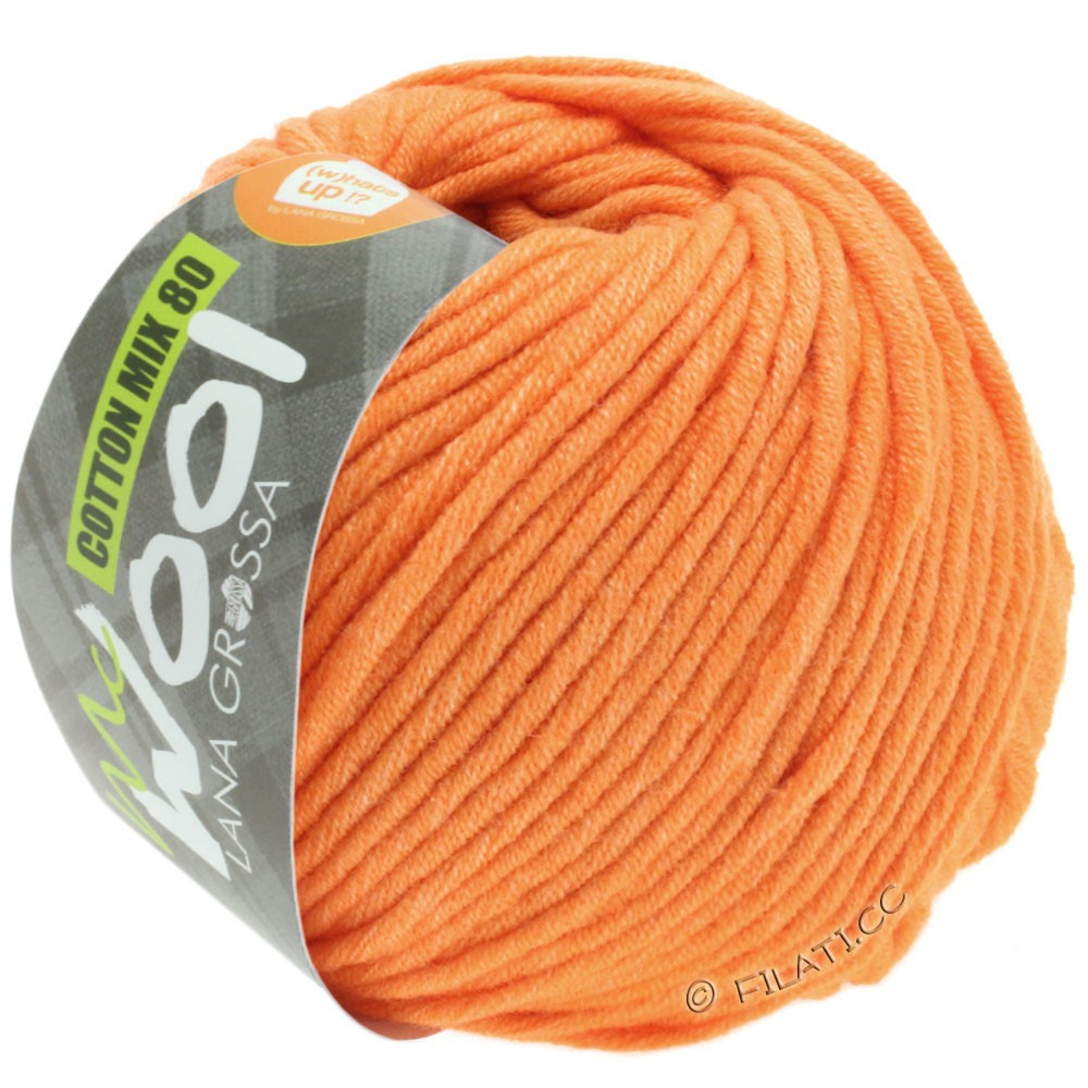 Lana Grossa COTTON MIX 80 (McWool) | 539-abrikos
