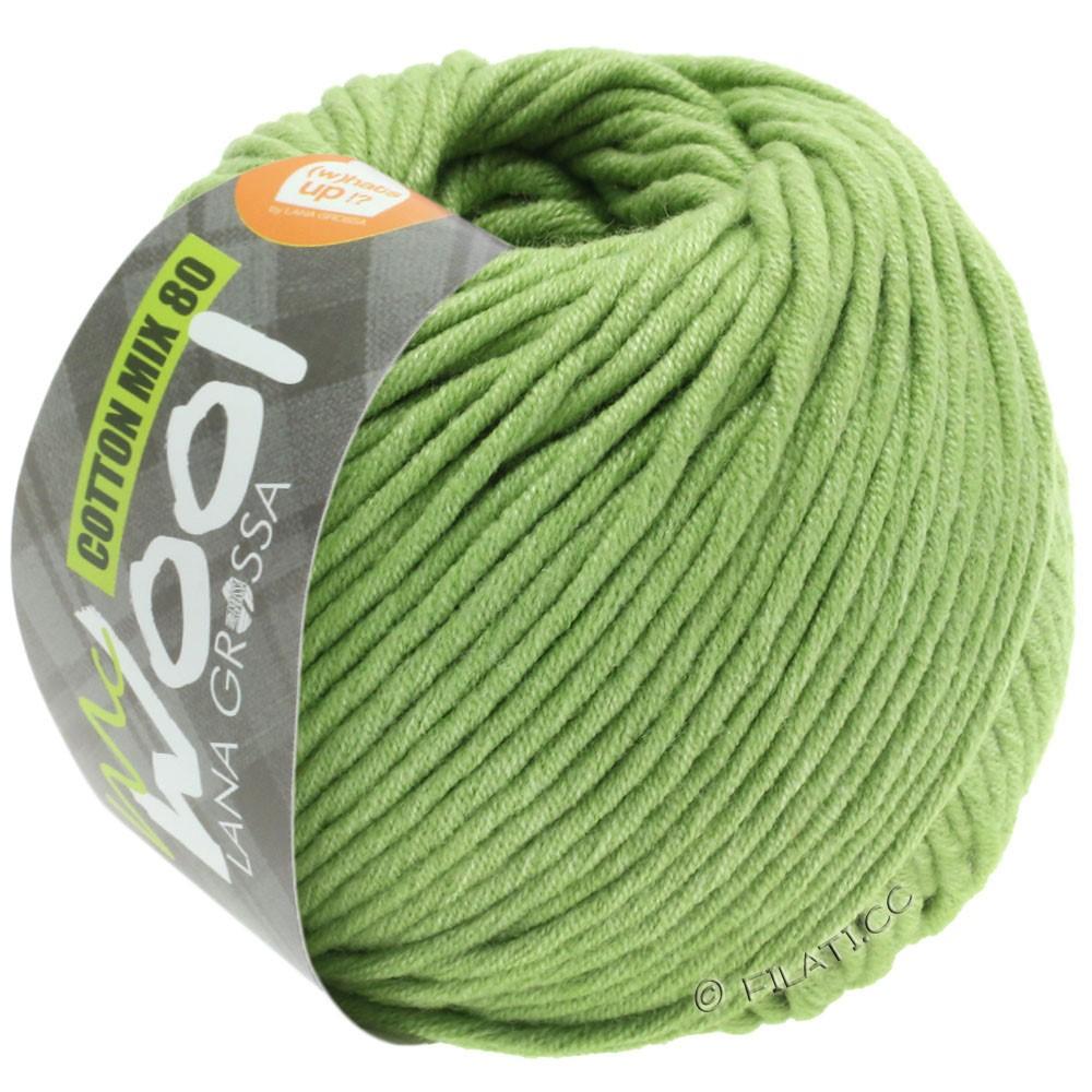 Lana Grossa COTTON MIX 80 (McWool) | 552-limegrøn