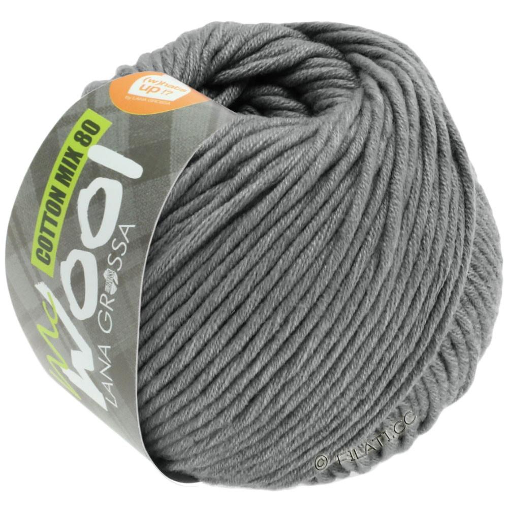 Lana Grossa COTTON MIX 80 (McWool)   554-grå