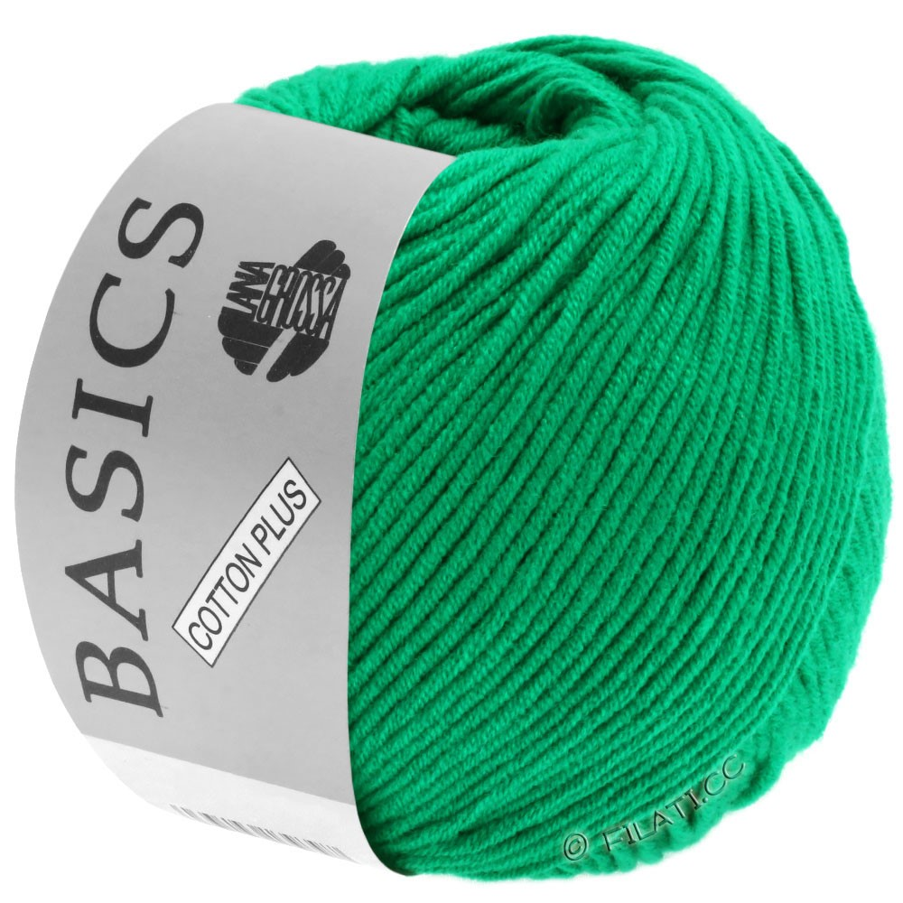 Lana Grossa COTTON PLUS | 110-smaragdgrøn
