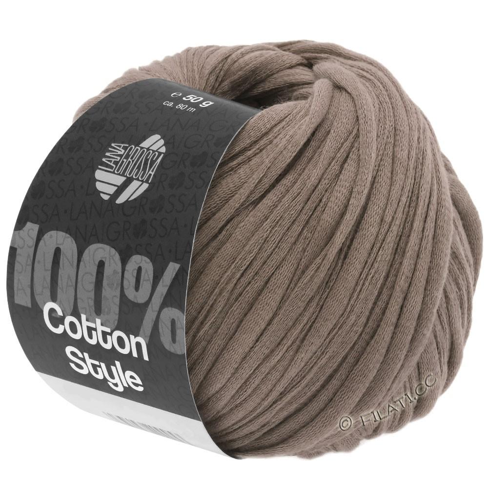 Lana Grossa COTTON STYLE | 04-gråbrun