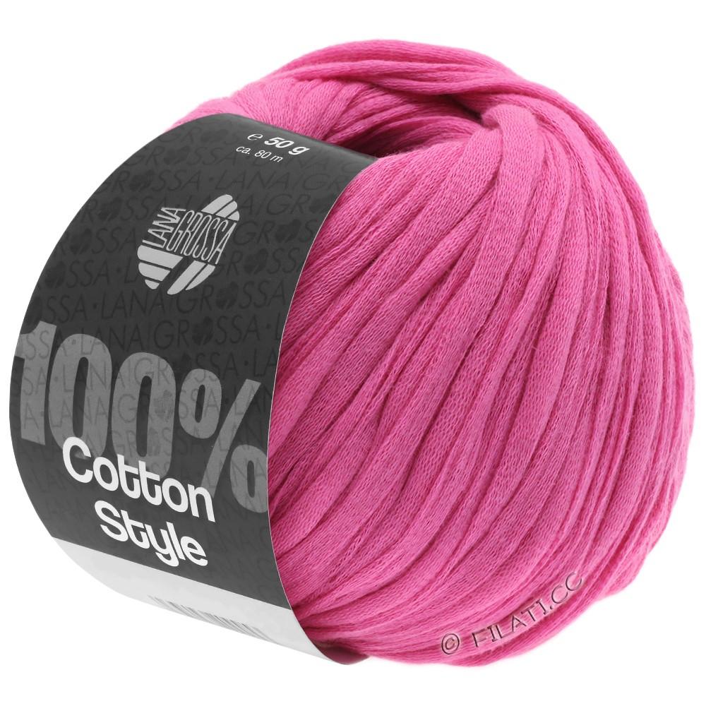 Lana Grossa COTTON STYLE | 09-pink