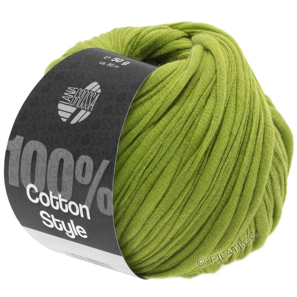Lana Grossa COTTON STYLE | 10-gulgrøn