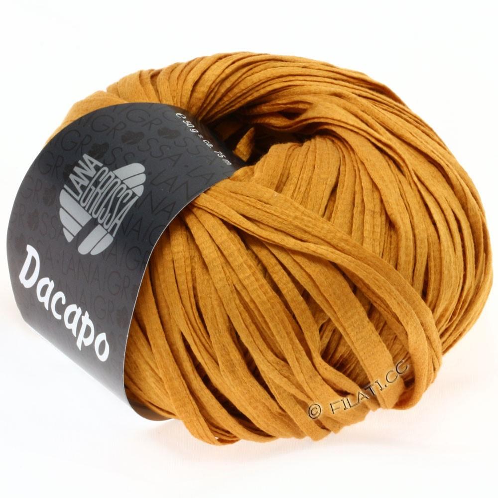 Lana Grossa DACAPO Uni | 008-okkergul