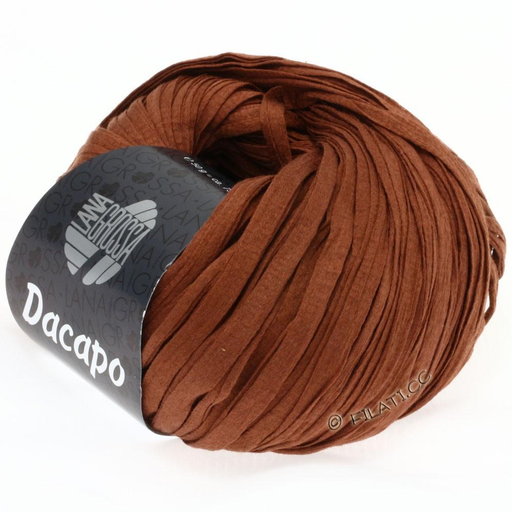 Lana Grossa DACAPO Uni | 009-kanelbrun