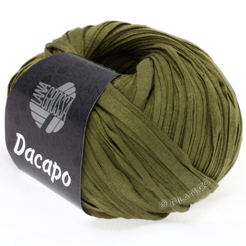 Lana Grossa DACAPO  Uni | 021-oliven