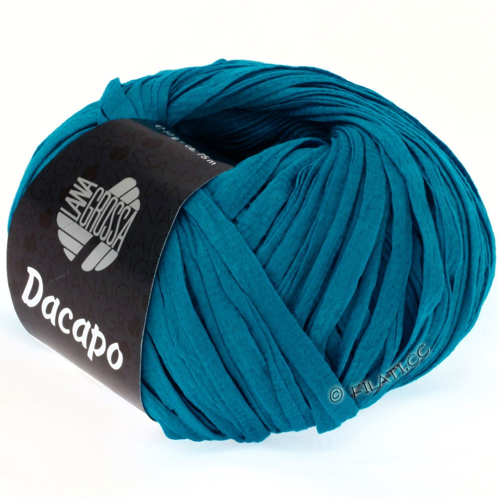 Lana Grossa DACAPO Uni | 029-azurblå