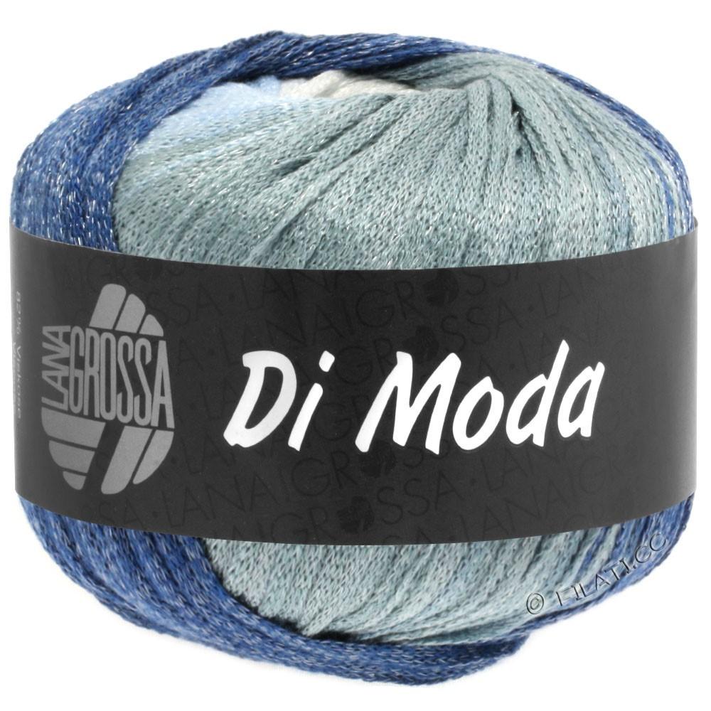 Lana Grossa DI MODA   01-hvid/lyseblå/lysegrå/jeans