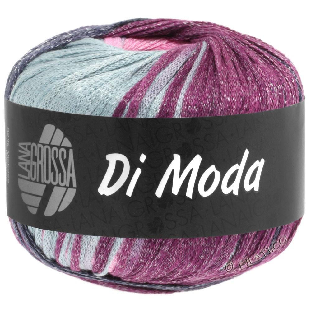 Lana Grossa DI MODA   02-lysegrå/rosa/blomme/blå violet