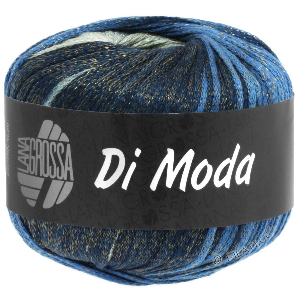Lana Grossa DI MODA   03-grøngrå/blå/natblå/gråblå