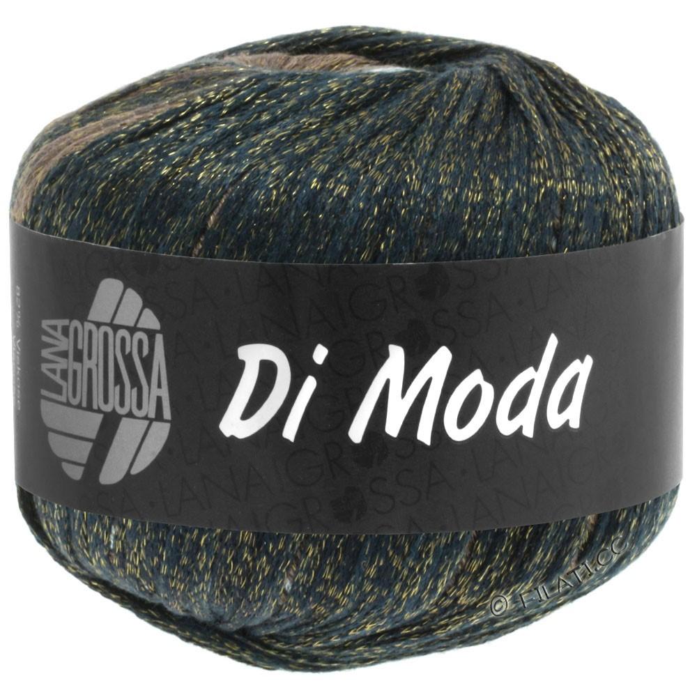 Lana Grossa DI MODA | 08-grøngrå/gråblå/jeans/nøddebrun/mokka