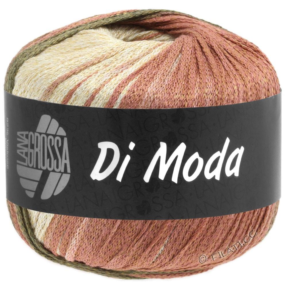 Lana Grossa DI MODA | 15-terrakotta/mørkoliven/kakibrun