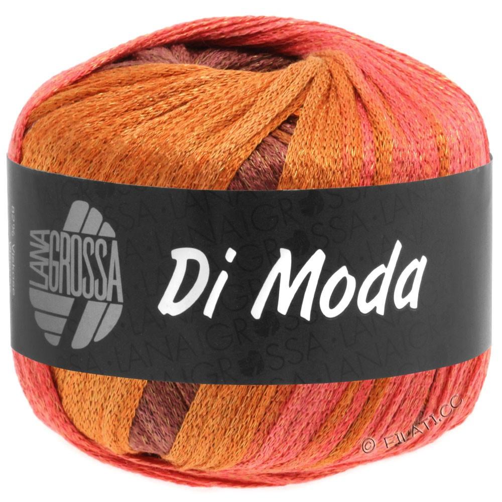 Lana Grossa DI MODA | 16-kanel/rød/orangebrun/teglstensrød