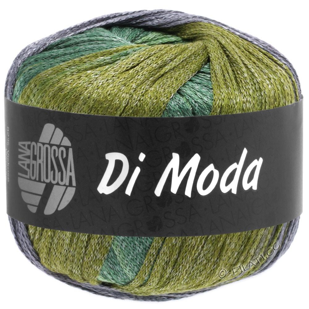 Lana Grossa DI MODA | 18-oliven/antikviolet/mørkegrøn/gennemsnit grøn