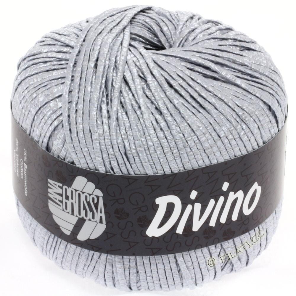 Lana Grossa DIVINO Uni | 06-sølvgrå