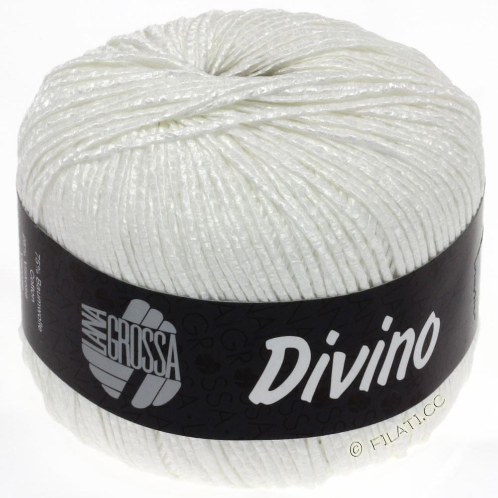 Lana Grossa DIVINO Uni | 15-hvid
