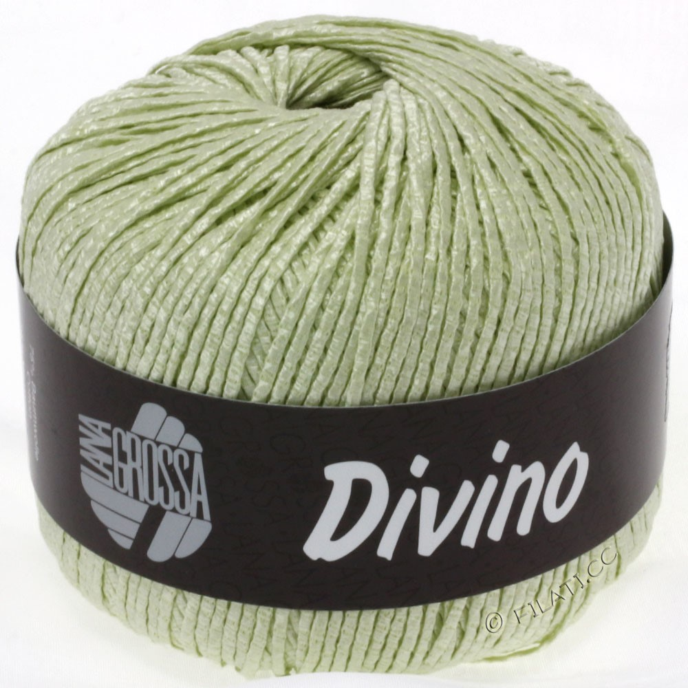 Lana Grossa DIVINO Uni | 16-sartgrøn