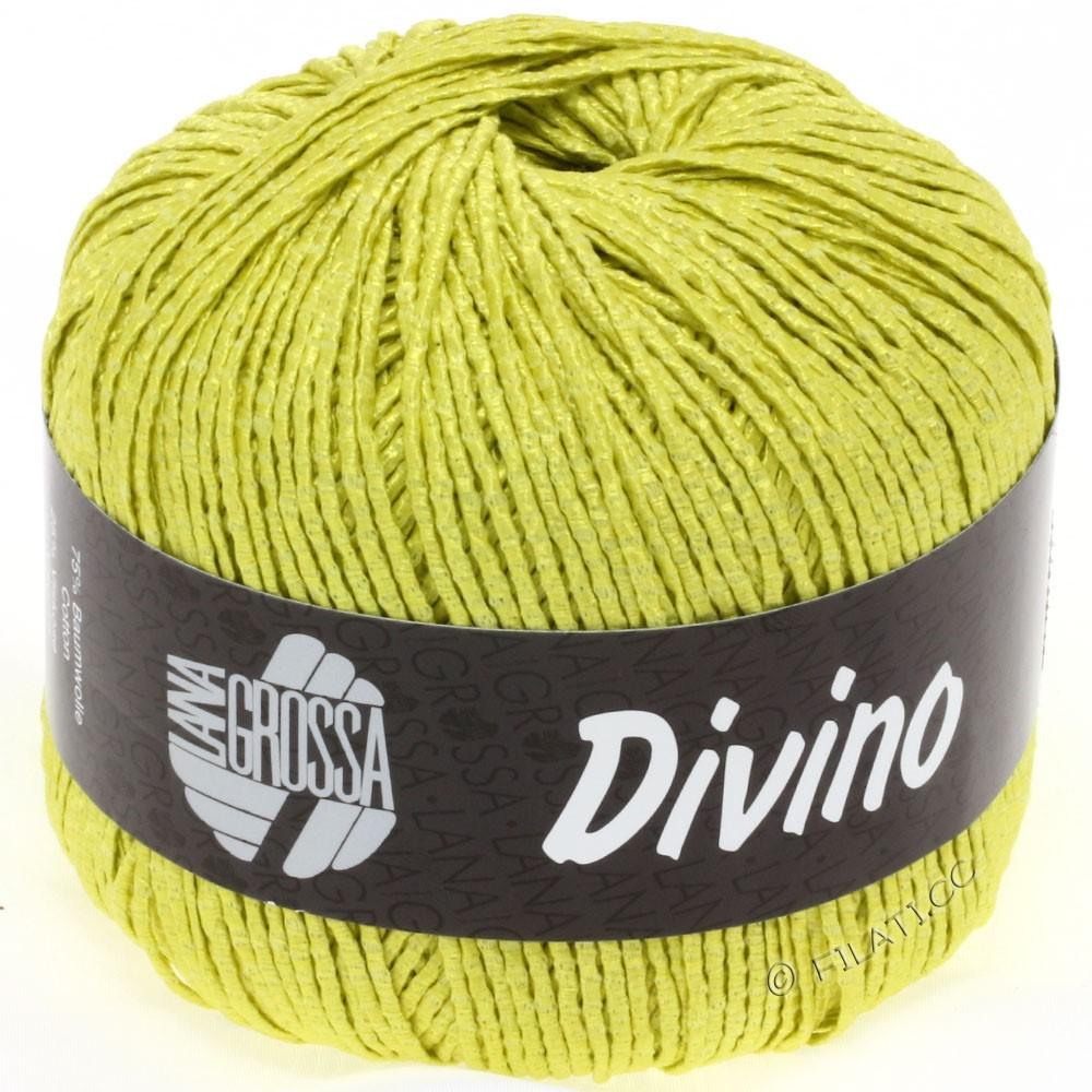 Lana Grossa DIVINO Uni | 21-gulgrøn
