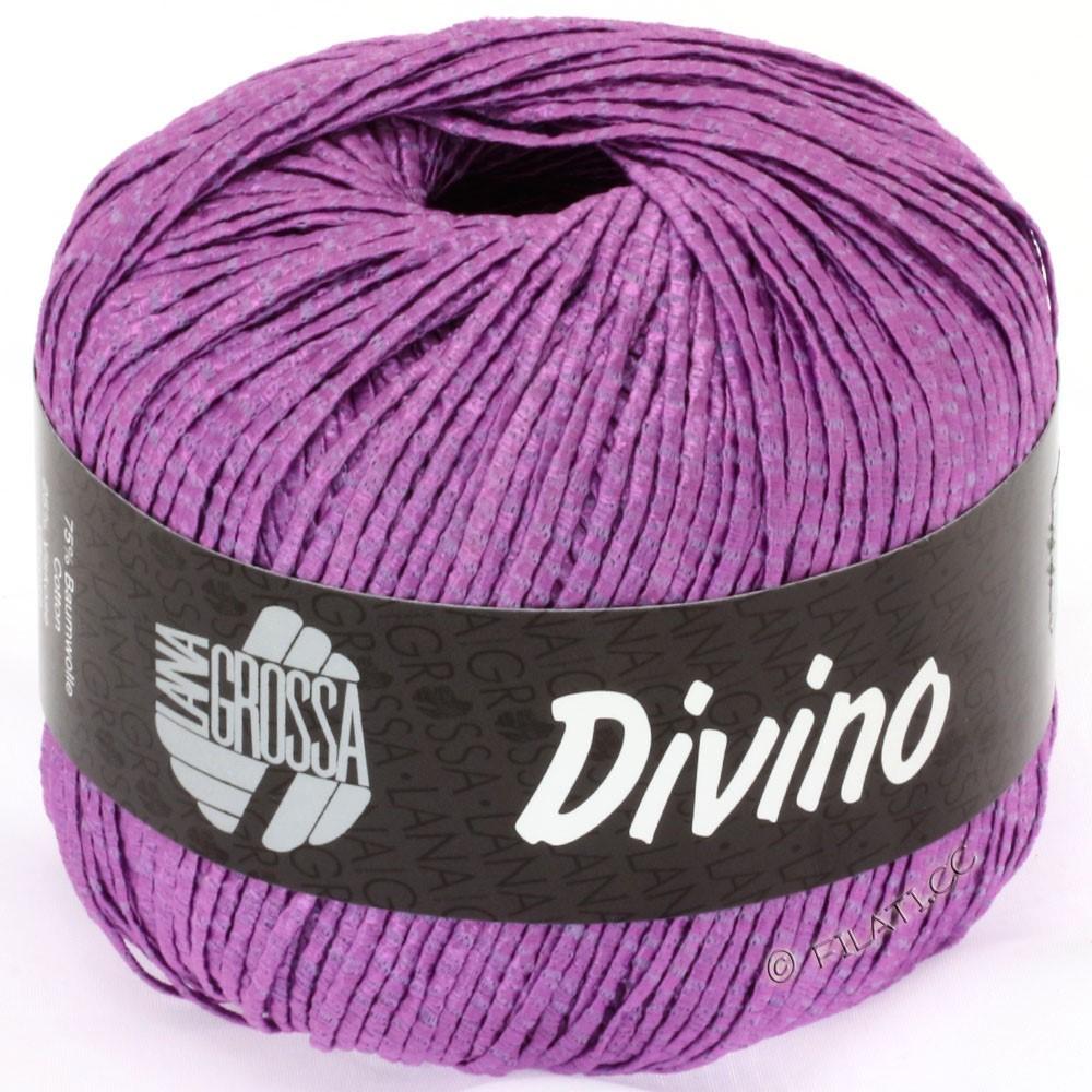 Lana Grossa DIVINO Uni | 28-violet