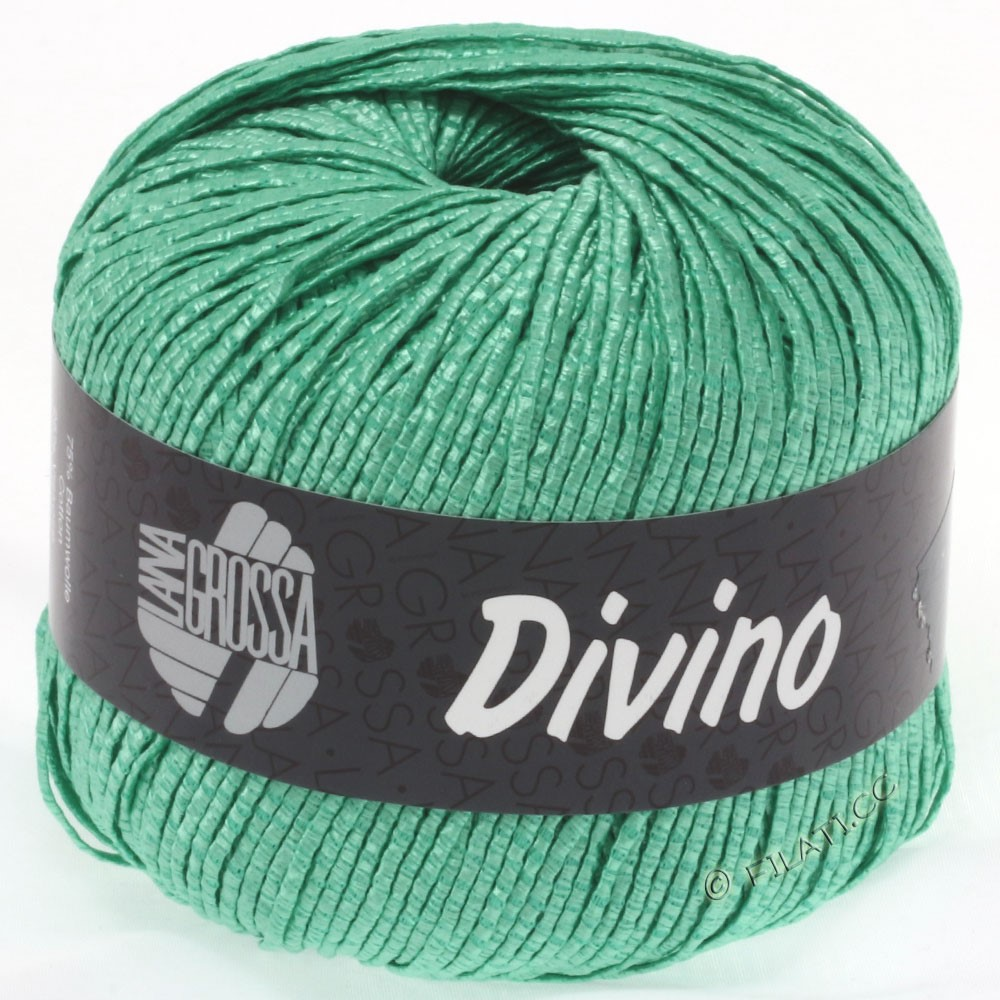 Lana Grossa DIVINO Uni | 40-smaragd