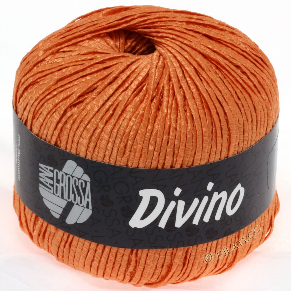 Lana Grossa DIVINO Uni | 42-orange
