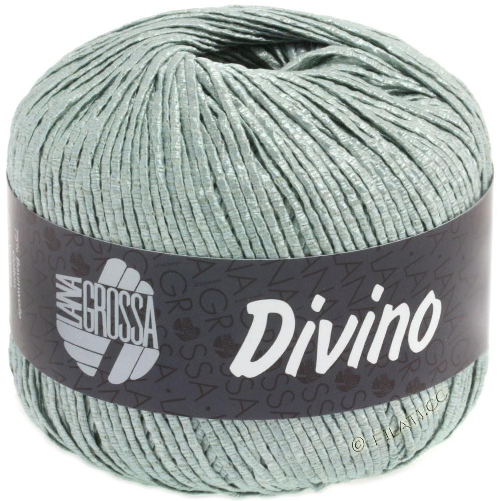 Lana Grossa DIVINO Uni | 54-grågrøn