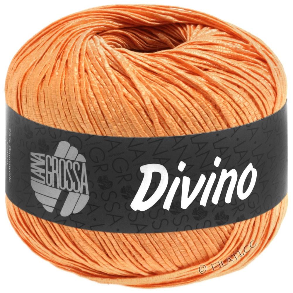Lana Grossa DIVINO Uni | 58-orangegul