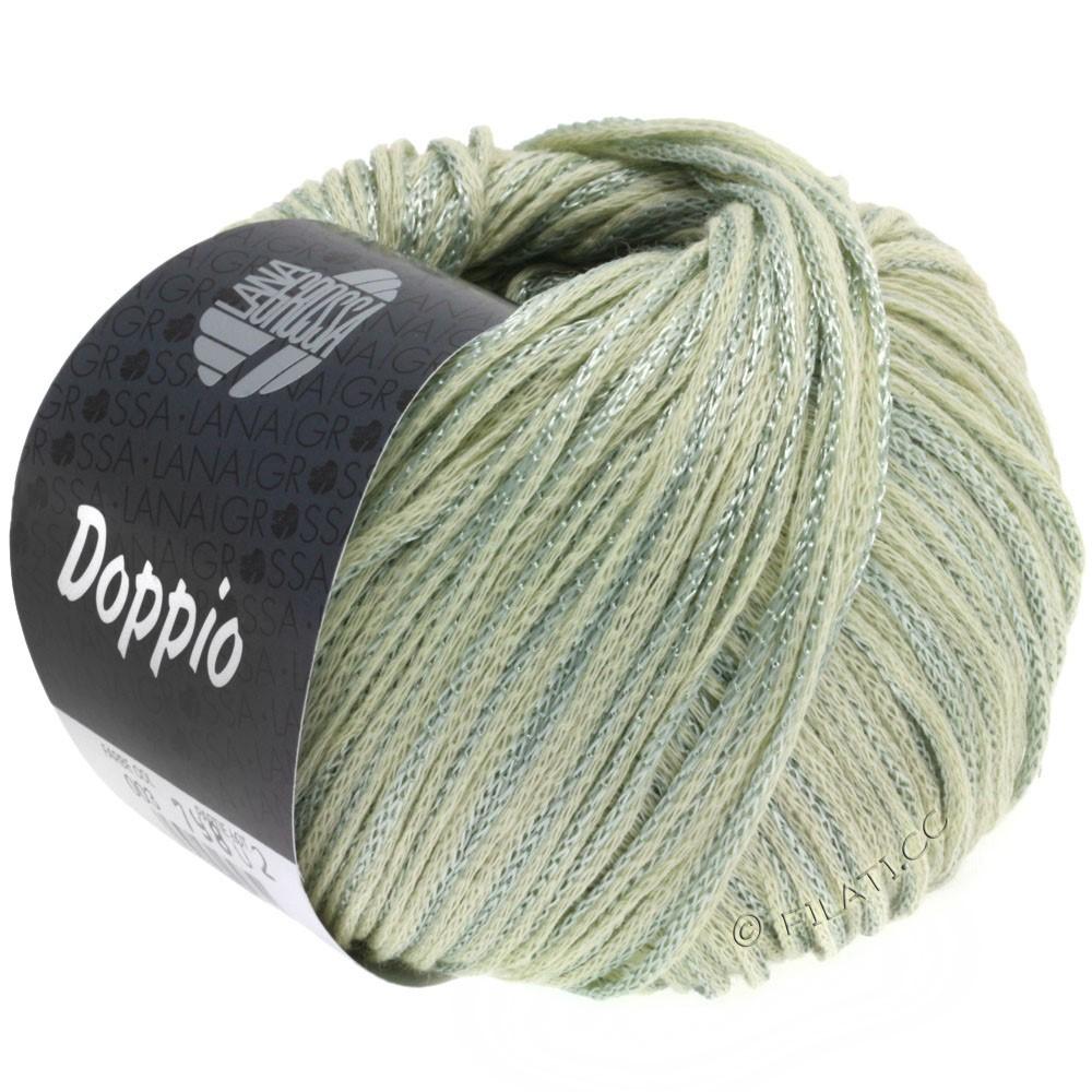 Lana Grossa DOPPIO/DOPPIO Unito | 003-natur/grøngrå