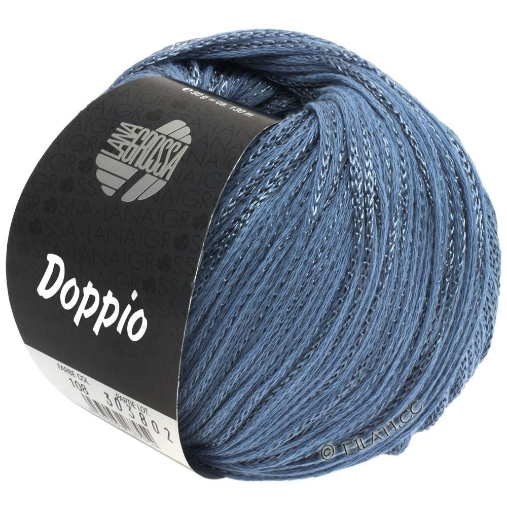 Lana Grossa DOPPIO/DOPPIO Unito | 108-blå