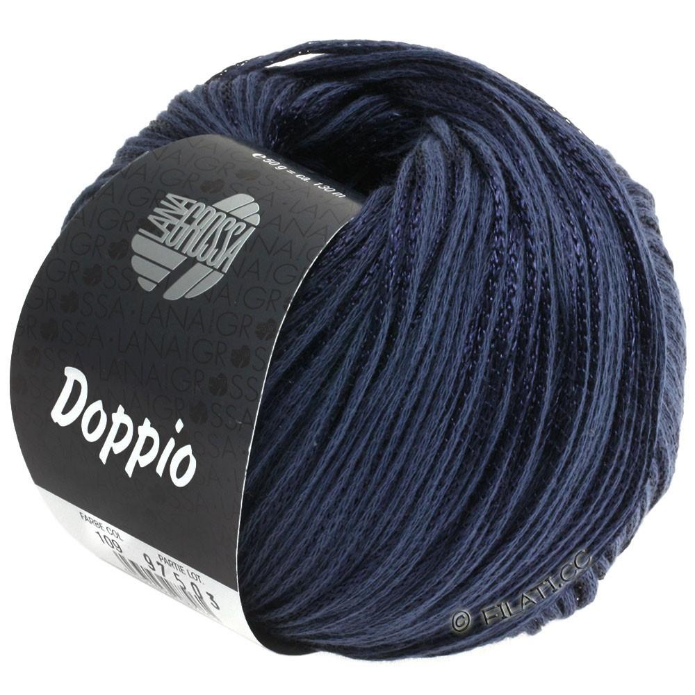 Lana Grossa DOPPIO/DOPPIO Unito | 109-mørkeblå