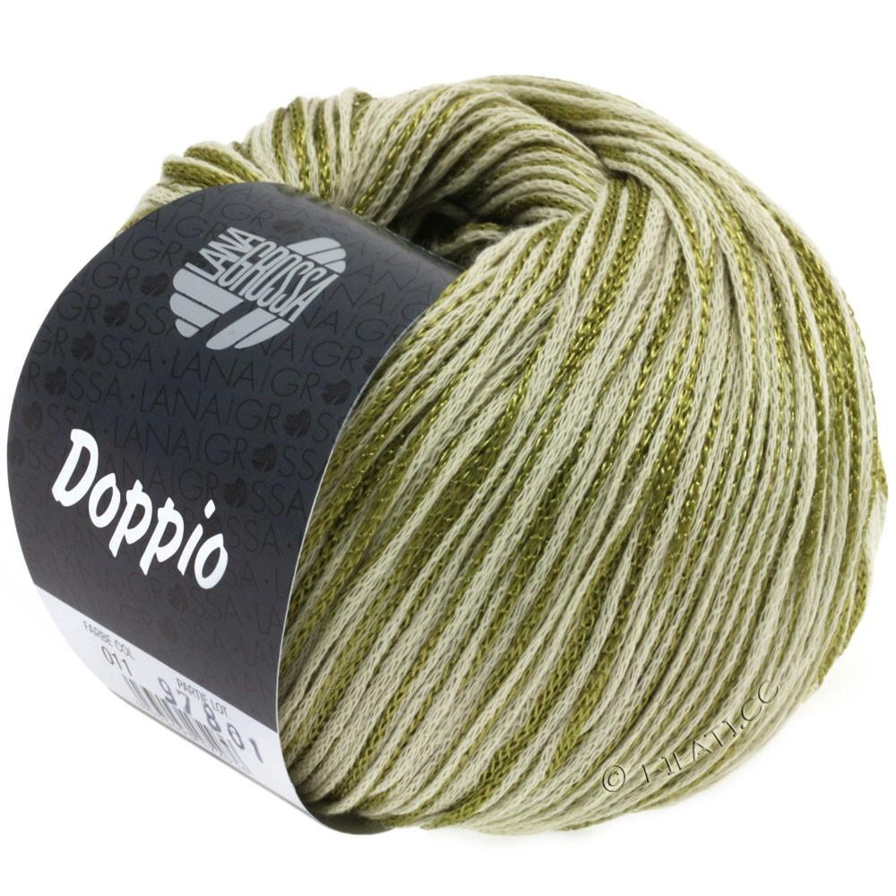 Lana Grossa DOPPIO/DOPPIO Unito | 011-oliven/natur