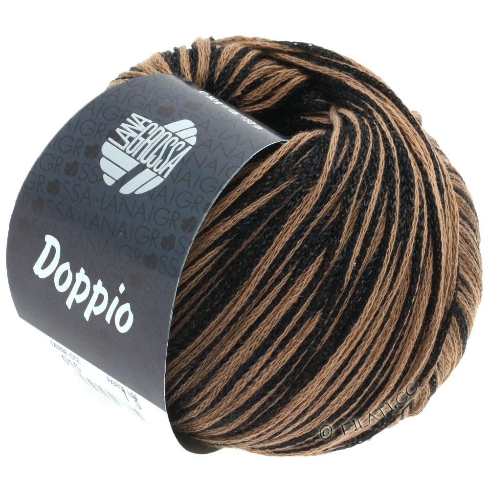 Lana Grossa DOPPIO/DOPPIO Unito | 015-sort/brun