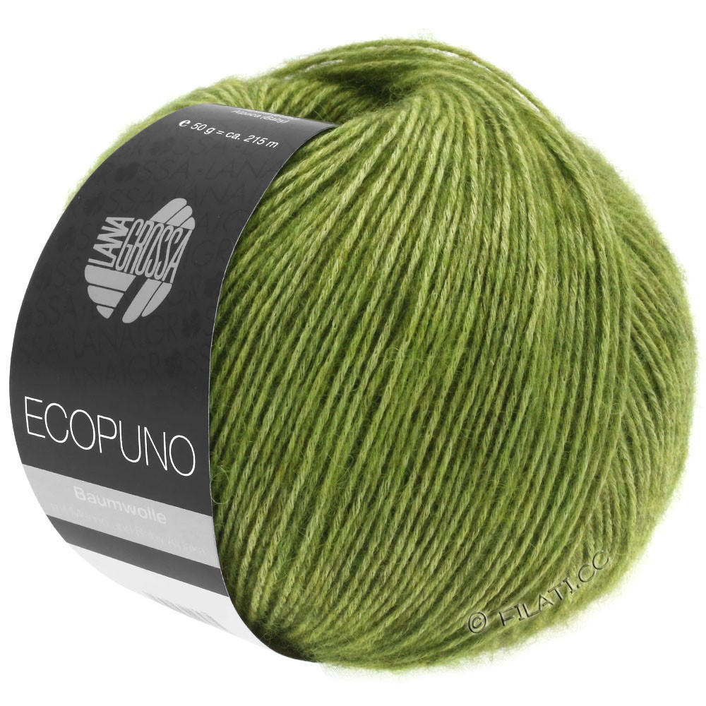 Lana Grossa ECOPUNO | 02-æblegrøn