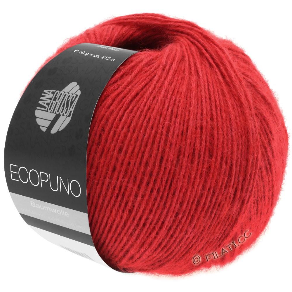 Lana Grossa ECOPUNO | 06-rød