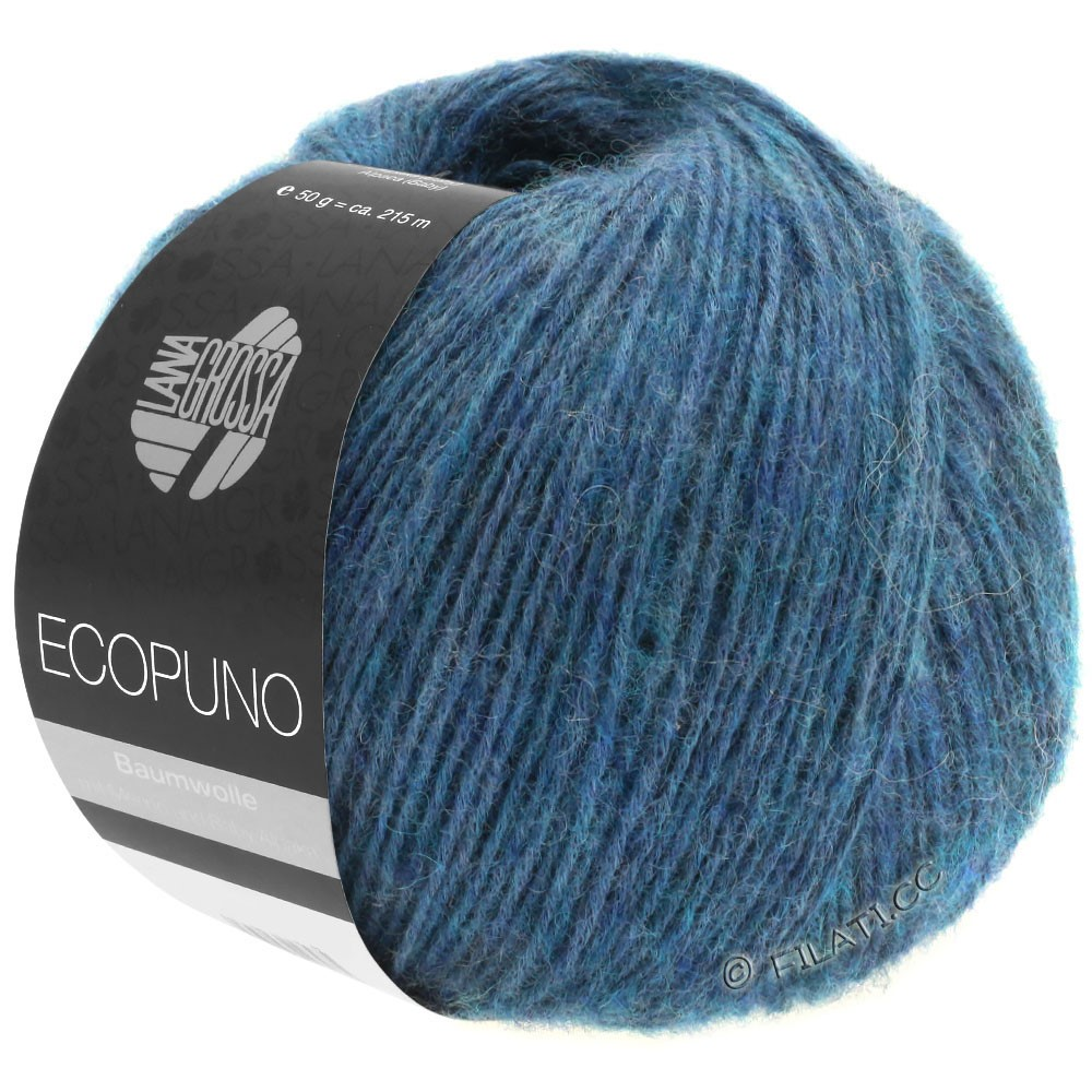 Lana Grossa ECOPUNO | 11-safirblå
