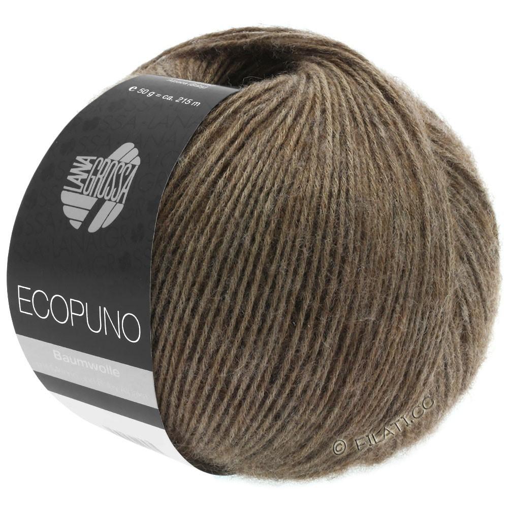 Lana Grossa ECOPUNO | 17-mørkebrun