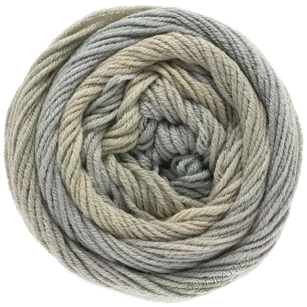 Lana Grossa ELASTICO Degradé | 705-beige/gråbeige/grøngrå