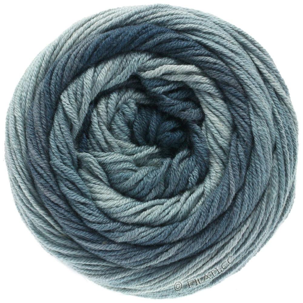 Lana Grossa ELASTICO Degradé | 708-lysegrå/gennemsnit grå/mørkegrå/skiffer