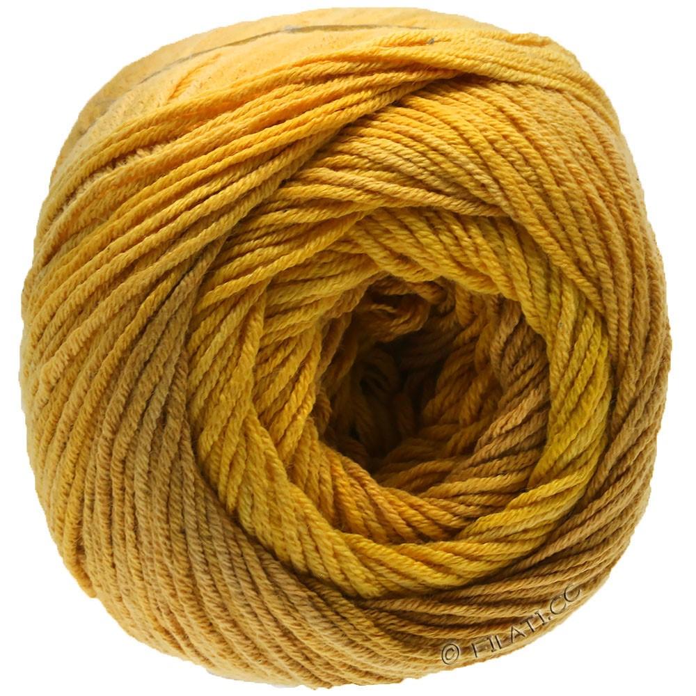 Lana Grossa ELASTICO Degradé | 713-æggeblomme gul/sandgul/gyvelgul