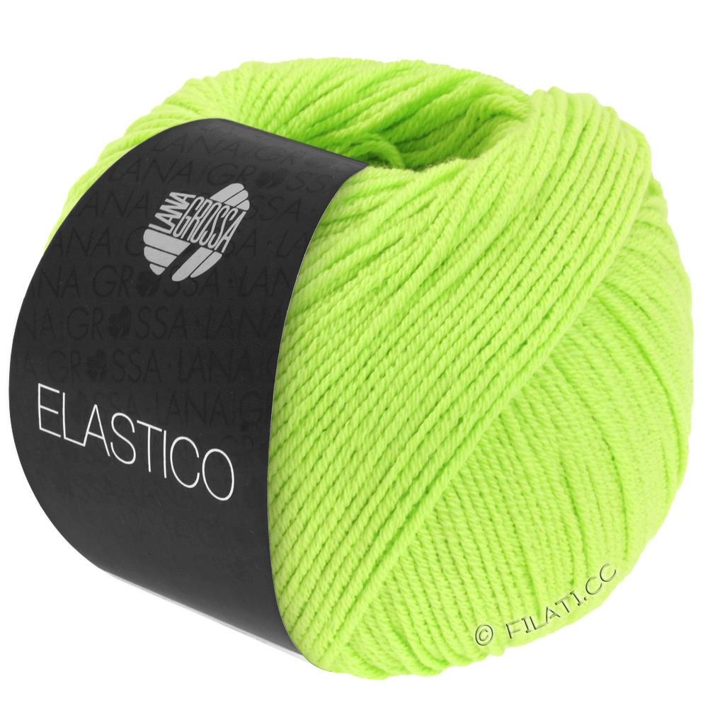 Lana Grossa ELASTICO  Uni/Print | 113-bilious grøn