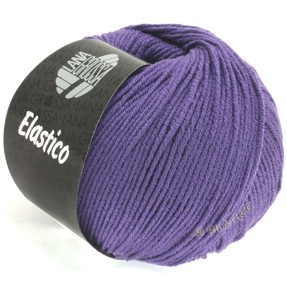 Lana Grossa ELASTICO Uni/Print | 123-blå violet
