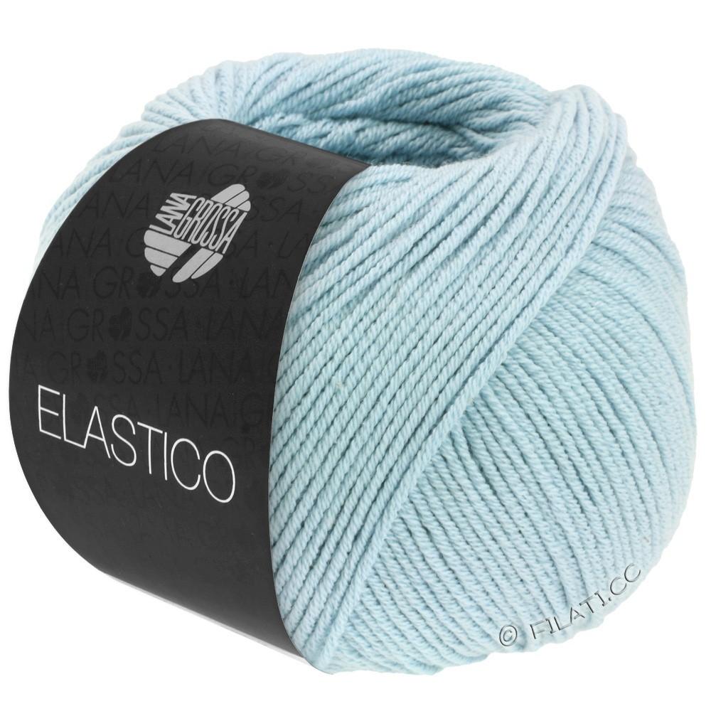 Lana Grossa ELASTICO  Uni/Print | 130-sartblå